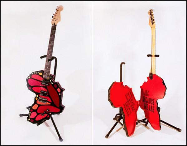 Веселые гитары: бабочка крылышками брынь-брынь-брынь-брынь