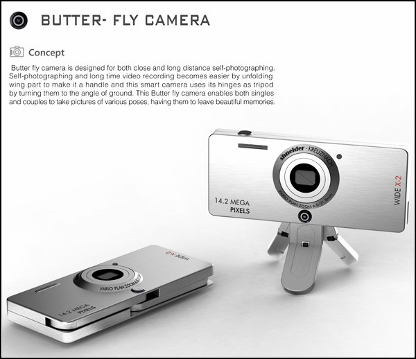 Как сфотографировать себя красиво: фотоаппарат-бабочка