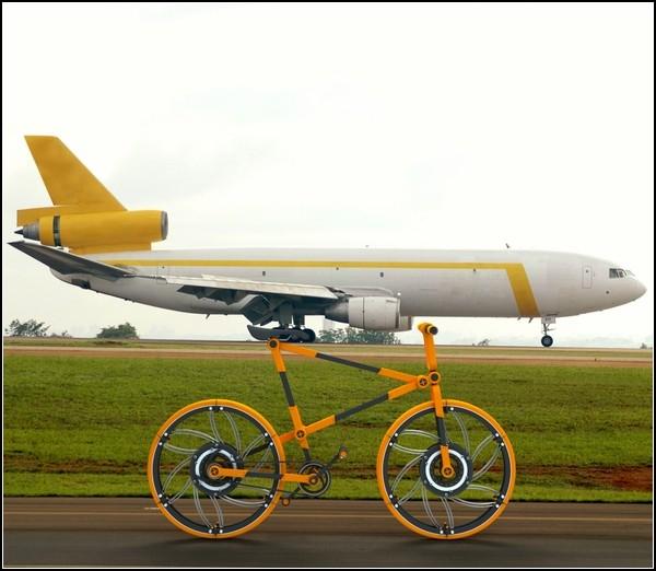 Самый складной велосипед в мире