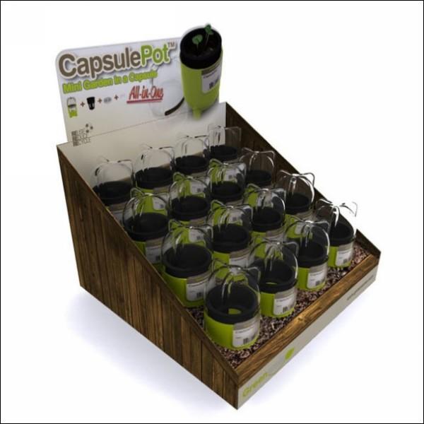 Гидропоника в домашних условиях: квартирный огород CapsulePot