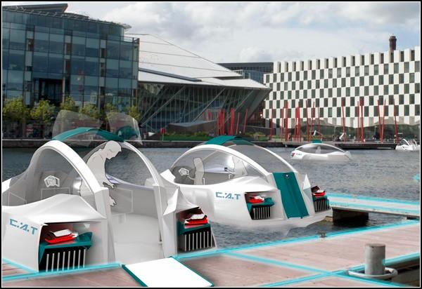 Гондола будущего: концепт водного транспорта CAT