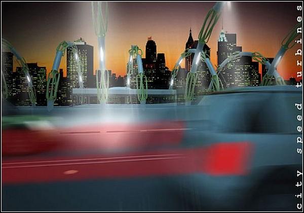 Источник дешевой энергии будущего: City Speed Turbine