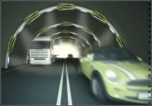 Дешевую энергию будут получать из ветра дорог