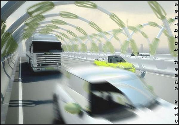 Даровой источник энергии City Speed Turbine