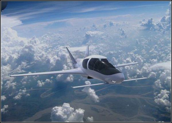 Частный самолет-концепт Cobalt Co50