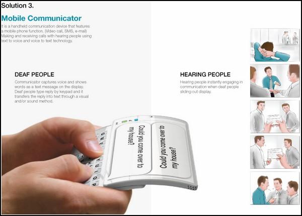Коммуникатор для глухих и глухонемых