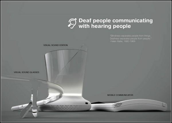 Гаджет для глухих и слабослышащих Communicaid