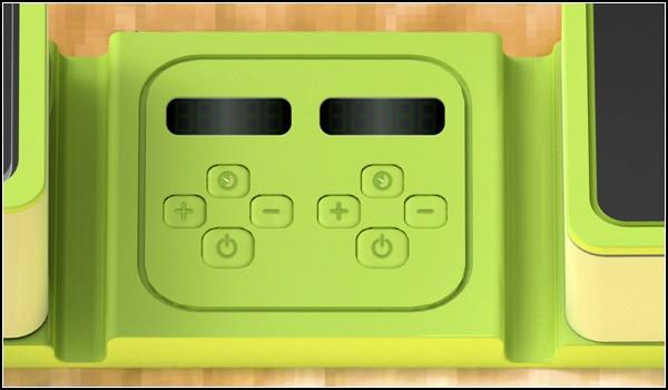 Интерфейс управления мини-кухни Cookease: готовить научатся даже геймеры