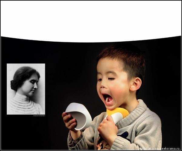 Гаджеты для глухих и слабослышащих. VV-Talker