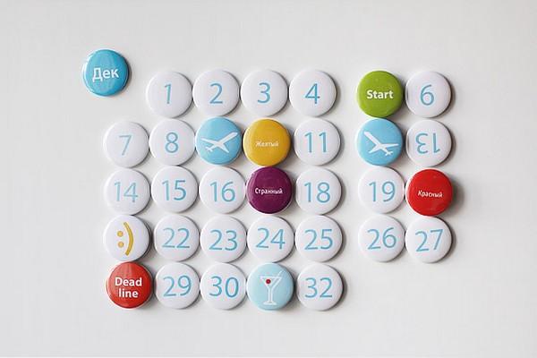 Необычные календари: магнитные числа