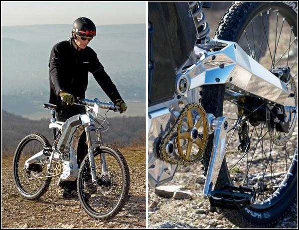 """Велосипед-мотоцикл-внедорожник """"Зверь"""""""