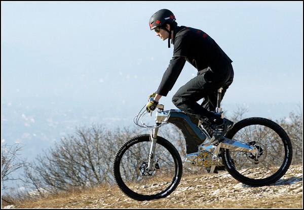 Велосипед и мотоцикл Beast