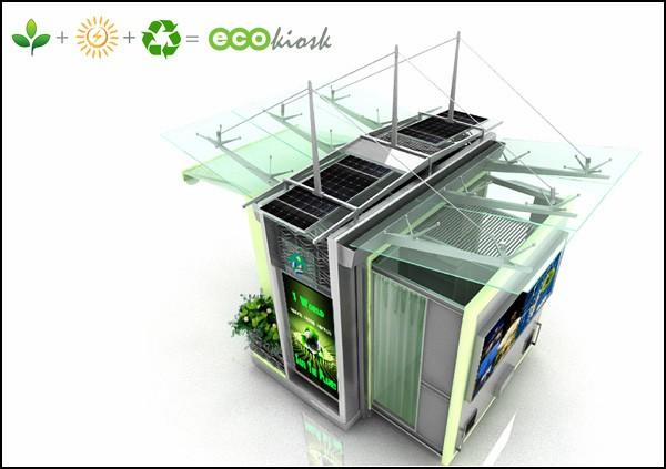 Новый киоск для зеленого будущего