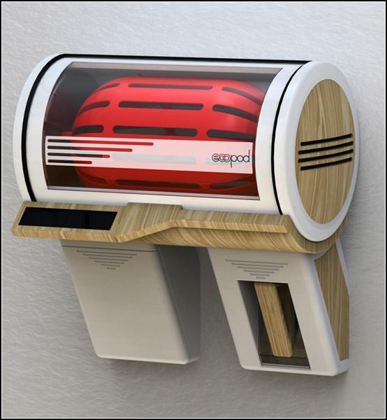 Маленькая стиральная машина для тесных квартир будущего