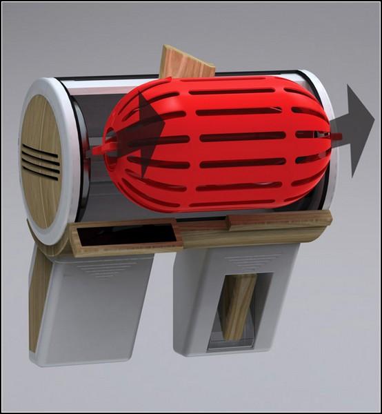 Самая маленькая стиральная машина с пластиковым барабаном