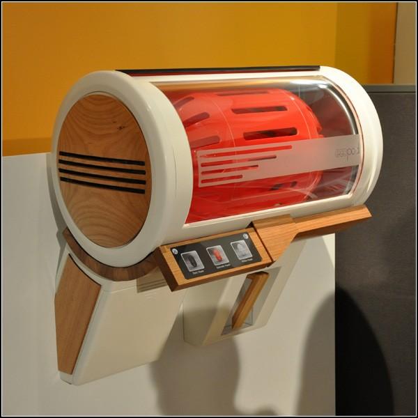 Маленькая стиральная машина-концепт Eco Pod