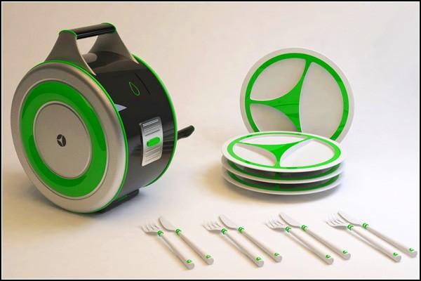 Лучшая посудомоечная машина для пикников: концепт EcoWash