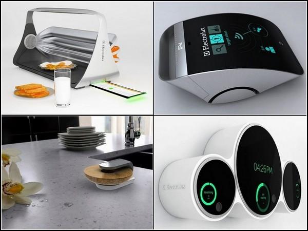 Техника Electrolux будущего? Обзор лучших идей Electrolux Design Lab-2011