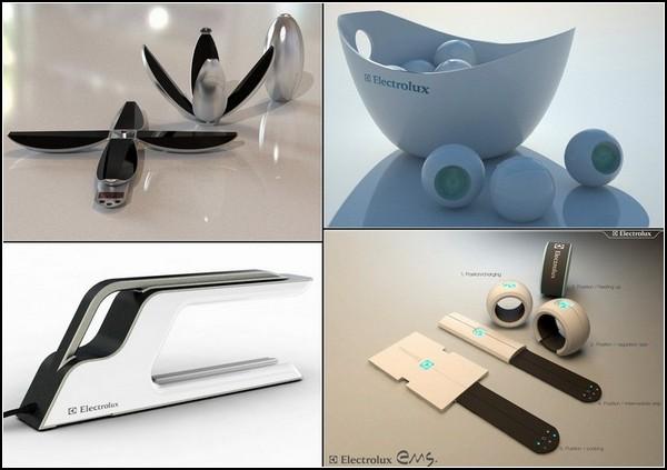 Техника Electrolux будущего. Обзор идей и концептов Electrolux Design Lab-2011