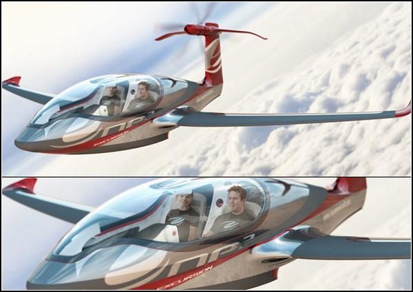 Электрический частный самолет LSA