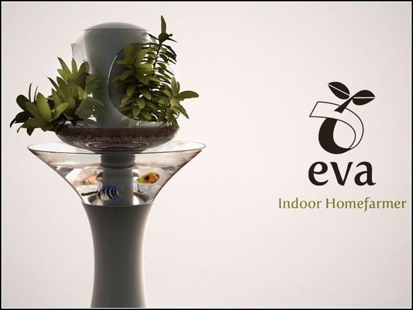 Домашняя ферма-концепт Eva