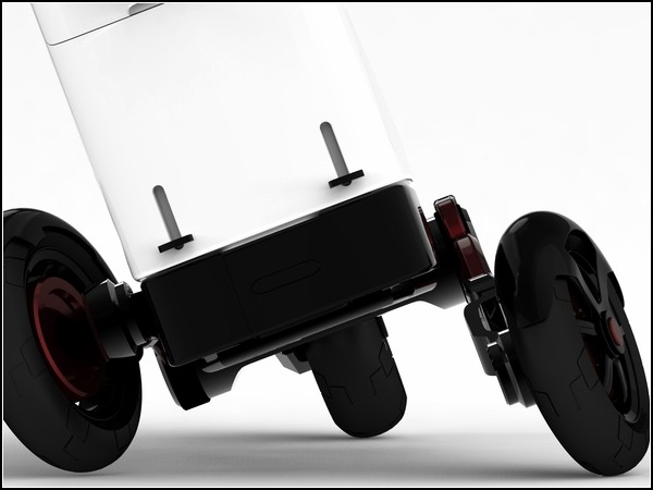 Электрический мотоцикл Exprecity: интеллектуальные оси