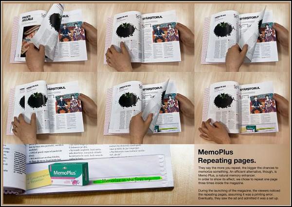 Реклама лекарств от расстройств памяти. Агентство Tempo Advertising, Румыния