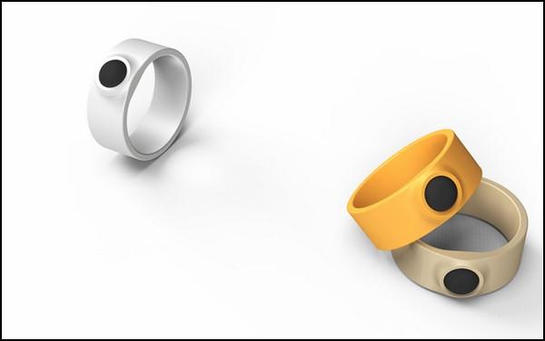 Кольцо-стилус для толстых пальцев