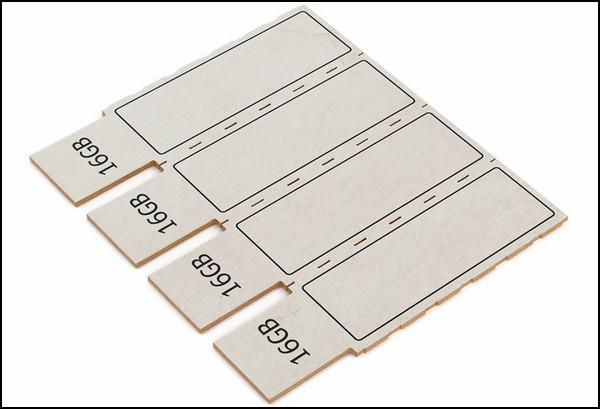 Самая дешевая флешка в мире будет картонной