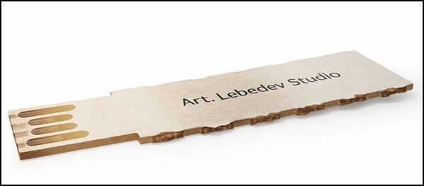 Самая дешевая флешка в мире от студии Артемия Лебедева