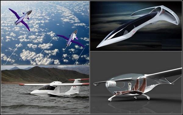 Частные самолеты будущего: ТОП-10 фантастических и реальных проектов