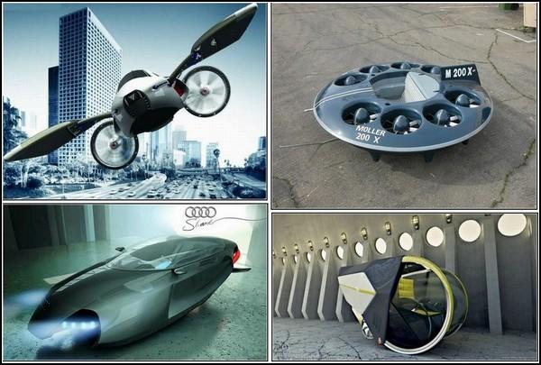 Летающие автомобили: полеты в концепте и наяву