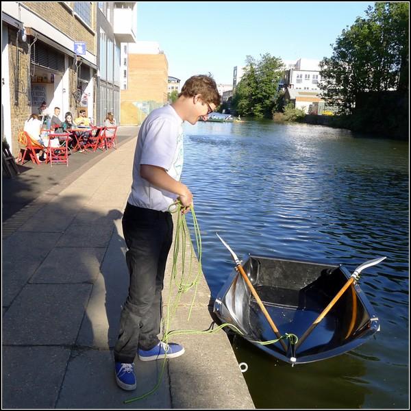 Складная лодка-сумка Fold a boat