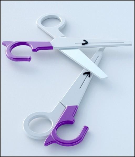 Нож для бумаг и пластмассовые ножницы Freecutter