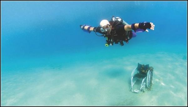 Движение и свобода под водой: акваланг для инвалидов
