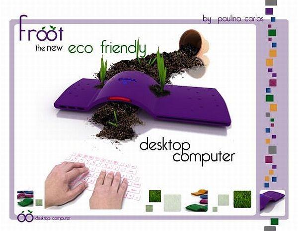 Виртуальные лазерные клавиатуры: Dell Froot