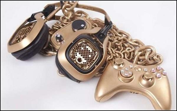 Чистое золото гаджетов: золотой Xbox