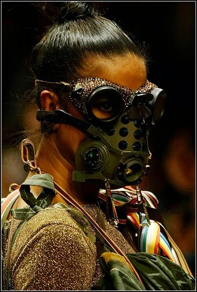 Необычные маски противогаза в картинках: обойдемся без жертв моды
