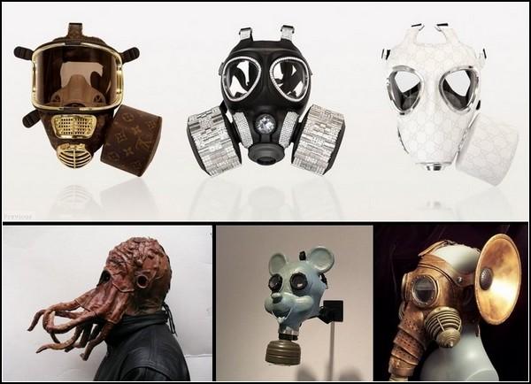 Самые необычные маски противогаза: обзор в картинках