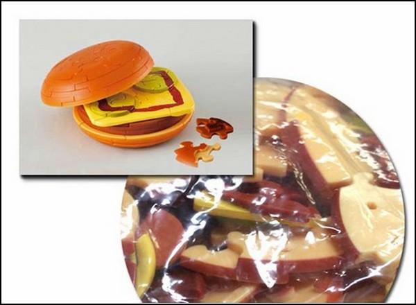 В мире пазлов: пазлбургер