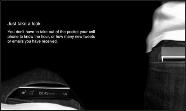 Второй экранчик Glance