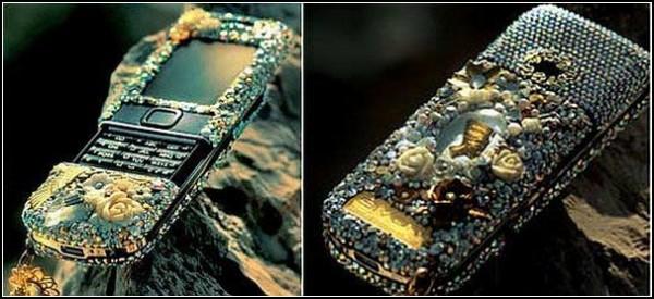 Эксклюзивный телефон из чистого золота
