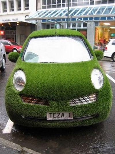 Безумные идеи: травяная машина