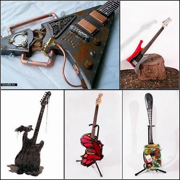 Веселые гитары с мозговзрывающим дизайном: обзор