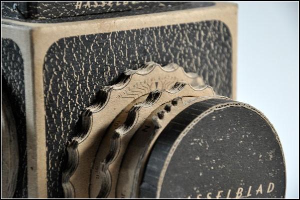 Камера в винтажном стиле Pinhole Hasselblad