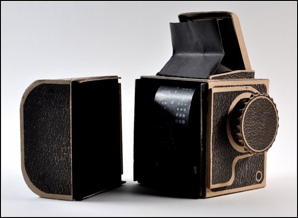 Камера-обскура в винтажном стиле