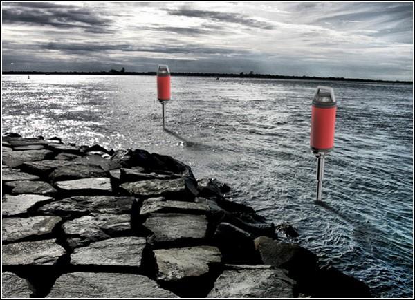 Чистота воды в наглядном виде: Health Light