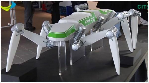 Большой робот-насекомое Hector
