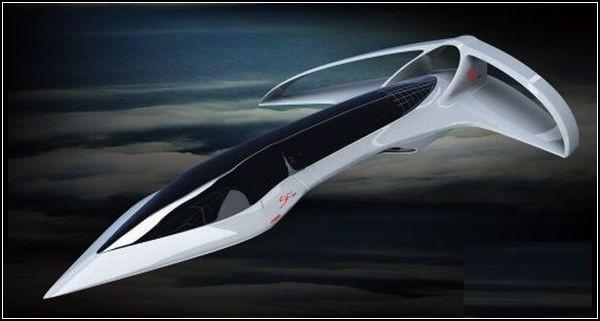 Сверхзвуковой бизнес-самолет