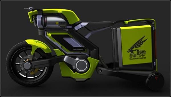 Мотоцикл для города: сжатый воздух спасет экологию
